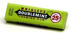 wrigleys kauwgom - nergens meer te koop