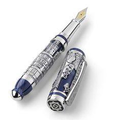 Montegrappa Barbiere di Siviglia Silver Fountain Pen