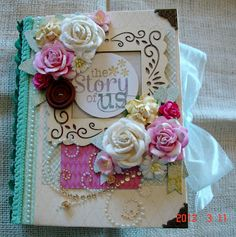Scrapbooking by Phyllis: Premade Album *The Story of Us*