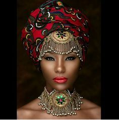 Turbans and the African head wrap finally acceptable? Description from…