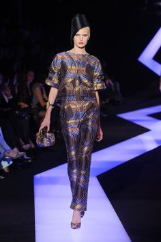 Armani Privé Spring 2013 Runway Pictures