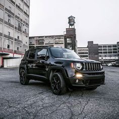 """The 2016 Jeep Renegade """"Dawn of Justice"""" Special Edition is here to fight your boring commute. #saveatsterling"""