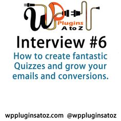 WP #Plugins A to Z Interview Show 6 with David Hehenberger from FastCatApps.com - http://plugins.wpsupport.ca/wp-plugins-z-interview-show-6-david-hehenberger-fastcatapps-com/