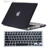 iBenzer - 2 in 1 Rubberized Black Hard Case Cover and Keyboard Cover for Macbook Pro 13 inch 13 Macbook Pro 15 Case, Macbook Pro 13 Inch, Newest Macbook Pro, New Macbook, Macbook Air 11, Computer Reviews, Keyboard Cover, Notebook Laptop, 2 In