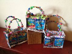 Capri Sun Purse small / lunch bag by need2craft on Etsy