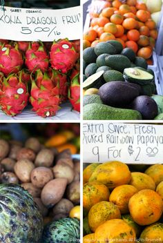Farmers Market in Hawaii: Kona's Sensual Smells Tempt Our Tastebuds via @Lynne Wieber on Travels