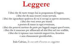 Leggere - Einaudi (Calvino)