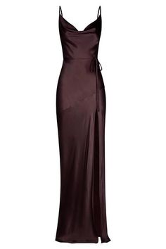 Grad Dresses, Satin Dresses, Ball Dresses, Bridesmaid Dresses, Pretty Dresses, Beautiful Dresses, Look Fashion, Fashion Outfits, Dress Fashion