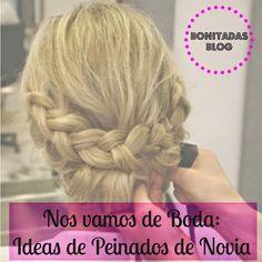 Ideas en peinados de novia o invitada, ¡nos encantan!