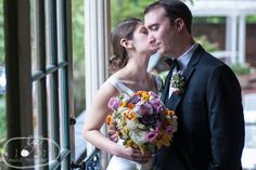 Bride and Groom wedding portraits at DACOR Bacon House, Washington DC