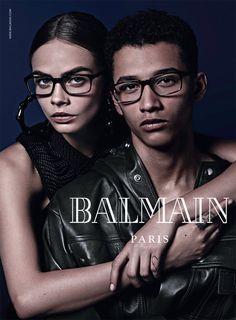 a4d2bd4d65a balmain eyewear fall 2014 Balmain Fall Eyewear Campaign Images with Cara  Delevingne Jourdan Dunn
