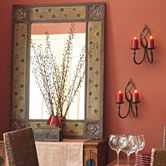 pier 1 mirror. Need something on the wall in the dining room, a mirror might be just the thing!