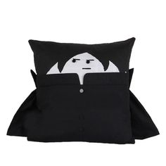 Harry potter Snape top quality handcraft black cushion hold pillow // Free Shipping Worldwide //