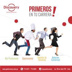 Discovery | Conoce más de nuestras carreras