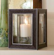 DIY Lantern - Dollar Tree frames...cool idea!