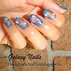 Over the moon gorgeous Galaxy Nail Art has landed! Please check out this post for an out of this world Nail Art design ; Galaxy Nail Art, Pretty Nail Art, Design Thinking, Nail Arts, Natural Nails, Nail Art Designs, Super Easy, Nail Polish, Moon