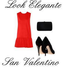 look elegante san valentino