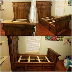 Audrey's bed