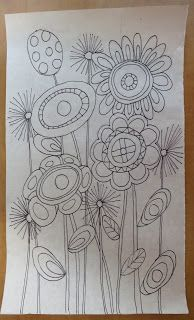 Latest Pics Embroidery Patterns mexican Tips You have figured out all of the fundamental involving appears, utilized online stitching sessions and also pa Hand Embroidery Patterns Free, Border Embroidery, Mexican Embroidery, Embroidery Flowers Pattern, Simple Embroidery, Embroidery Stitches, Flower Doodles, Doodle Flowers, Quilt Modernen