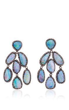 One Of A Kind Assana Earrings by LAUREN CRAFT COLLECTION for Preorder on Moda Operandi