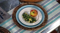 Spinach Scramble (Dr. Phil's 20/20 Diet)