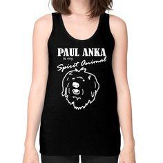 Paul Anka - Unisex Fine Jersey Tank (on woman)