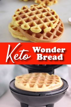 Keto Wonder bread made with coconut flour or almond flour because either is amazing! I love this keto bread for sandwiches too! Keto Wonder bread made with coconut flour or almond flour because either is amazing! I love this keto bread for sandwiches too! Best Keto Bread, Best Keto Diet, Low Carb Bread, Low Carb Keto, Low Carb Recipes, Diet Recipes, Dessert Recipes, Beef Recipes For Dinner, Chili Recipes