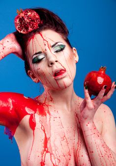 Avoid the Pomegranate blood bath.  The easiest way to eat a pomegranate: http://swtshine.com/2013/10/23/how-to-eat-a-pomegranate