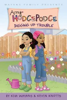 Digging Up Trouble (Amy Hodgepodge) by Kim Wayans… Black Children's Books, Black History Books, African American Literature, American Children, Books To Buy, Books To Read, My Books, Books For Teens, Teen Books