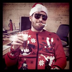 """merry effing christmas from @gregsbriefs. #badsanta"" --@claytonsu"