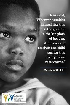 August 9, 2016 – Matthew 18:4-5