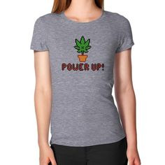 Power Up Fitted Tee $39.99 CAD