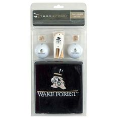 $31.99  WAKE FOREST - college apparel - Golf Gift Set - Golf Accessories