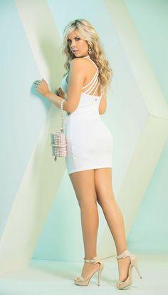 #CarmelModa #dress #white