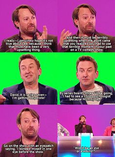 WILTY: Will it be an eye or a wound? British Humour, British Comedy, Epic Quotes, Tv Quotes, Comedy Tv, Comedy Show, Funny Memes, Hilarious, Jokes