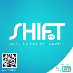 Watch SHIFT TV today! Tv Watch, Instagram Accounts, Company Logo, Youtube, Youtube Movies