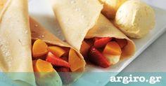 Συνταγή για κρέπες από την Αργυρώ Μπαρμπαρίγου | Αυτή είναι η ιδανική συνταγή για να φτιάξετε ζύμη για τέλειες γλυκιές και αλμυρές κρέπες Waffles, Pancakes, Greek Cooking, Greek Recipes, Sweet Bread, Crepes, Beverages, Drinks, Bakery