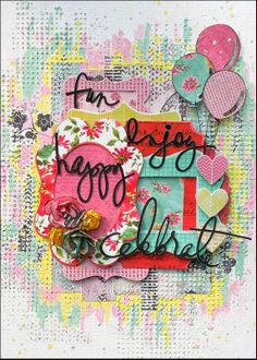 Love Life's Little Pleasures: May Challenge For Scrap Around The World!