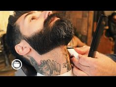 How to Trim a Beard by Daniel Alfonso featuring Roy Oraschin Beards And Mustaches, Long Beard Styles, Hair And Beard Styles, How To Trim Mustache, Mens Beard Grooming, Pompadour Hairstyle, Hair Falling Out, Long Beards, Male Hairstyles