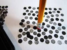 Image result for rubber stamps with dots