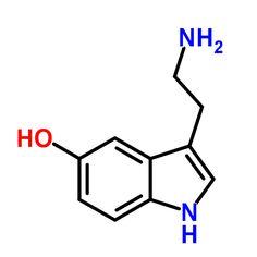 ChemSpider 2D Image | Serotonin | C10H12N2O
