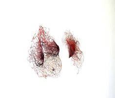 erin TUCKER Artist At Work, Fiber Art, Femininity, Identity, Abstract, Artwork, Wire Sculptures, Anatomy, Stitching