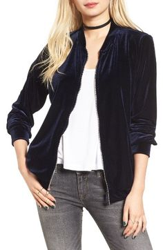 Free shipping and returns on BP. Track Jacket at Nordstrom.com. Plush velour lends touchably soft texture to a relaxed track jacket that's perfect for when you're off duty but want to stay on trend.