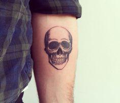 skull, tattoo