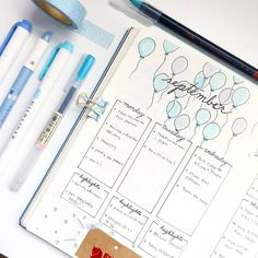 Wanting to create the perfect September bullet journal layout? Well we have you covered with 27 gorgeous September examples and some tips for. Bullet Journal September, How To Bullet Journal, Bullet Journal Writing, Bullet Journal Themes, Bullet Journal Layout, Bullet Journal Inspiration, Book Journal, Journals, Journal Ideas