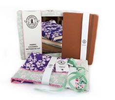 Kirstie Allsopp Fabric Notebook Kit exclusively available at Hobbycraft #craft #kirstieallsopp  http://www.hobbycraft.co.uk/kirstie-allsopp-fabric-notebook-kit/593484-1000