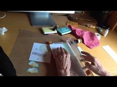 Two colour stamping with MISTI - YouTube