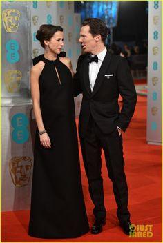 Benedict Cumberbatch & Sophie Hunter- BAFTAs 2015