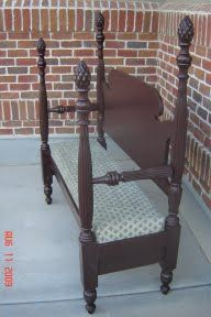 1000 Images About Bench Settee From A Bed On Pinterest