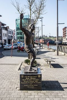 Drogheda Honours Joey Maher ( first Irishman to win the world handball crown)